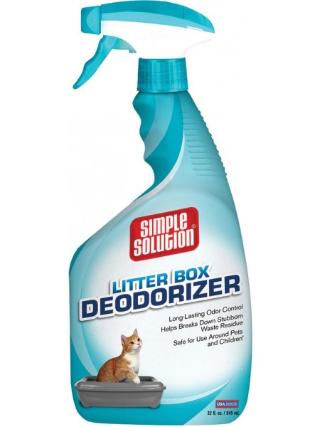 Simple Solution Cat Litter box deodorizer