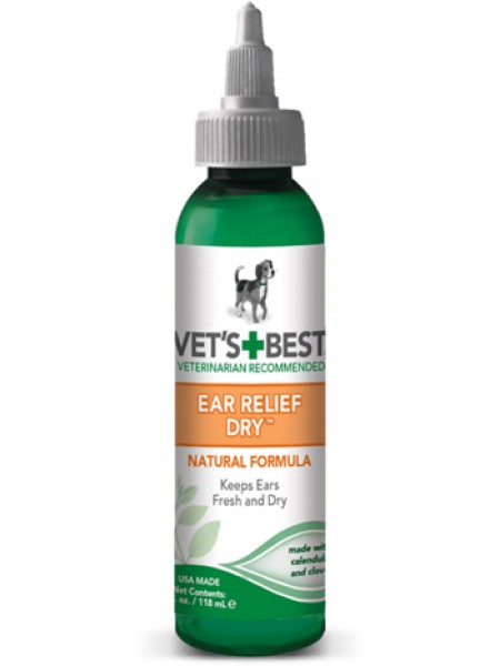 Vet's Best Ear Relief Dry
