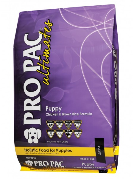 PRO PAC Ultimates Puppy Chicken &amp Brown Rice Formula