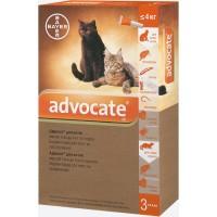 Bayer Advocate для кошек до 4 кг