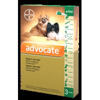 Bayer Advocate для собак весом до 4 кг