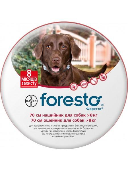 Bayer Foresto для собак