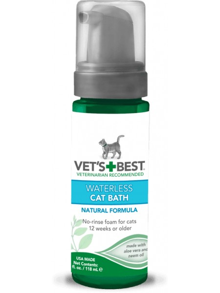Vet's Best Waterless Cat Bath