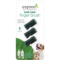 Espree Oral Care Fingerbrush 3 pack