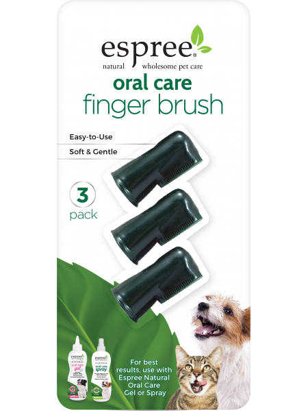 Espree Oral Care Fingerbrush 3 pack