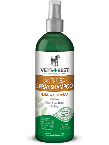 Vet's Best Anti-Flea Easy Spray Shampoo