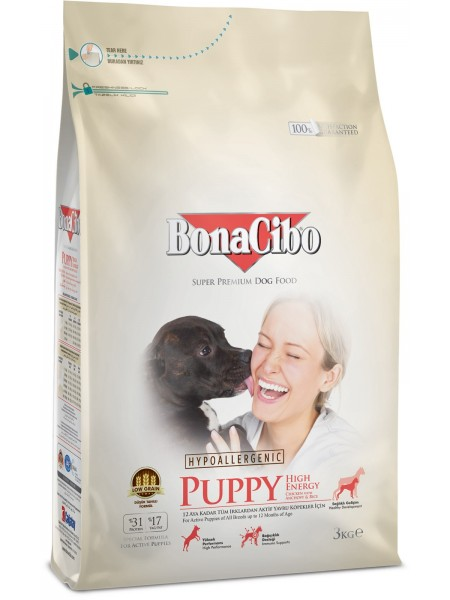 BonaCibo Puppy High Energy