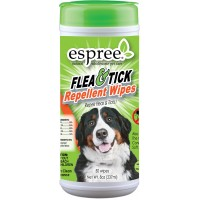 Espree Flea & Tick Oat Repellent Wipes