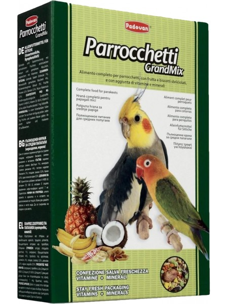 Padovan GrandMix Parrocchetti