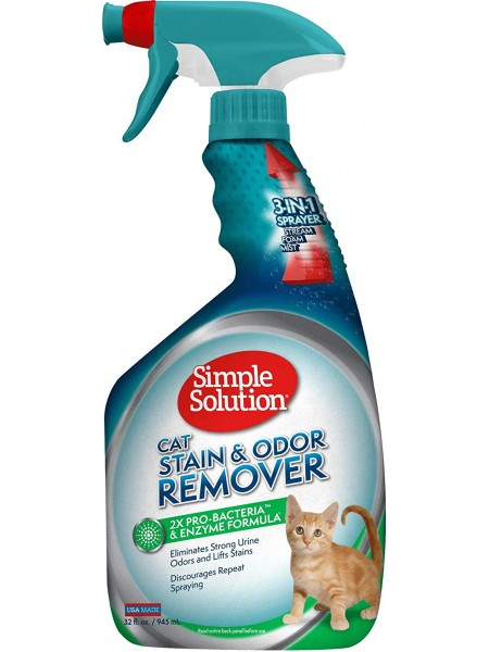 Simple Solution Cat stain and odor remover