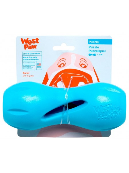 West Paw Qwizl Treat Toy - Large