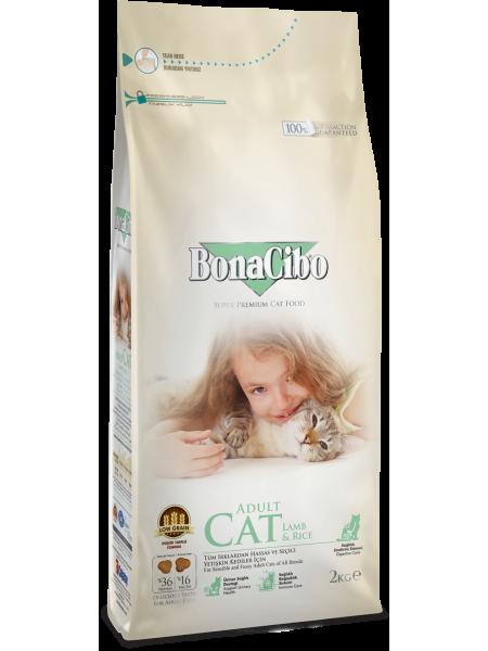 BonaCibo Adult Cat Lamb & Rice