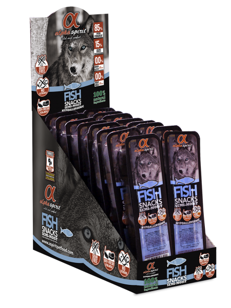 Alpha Spirit Fish Snacks