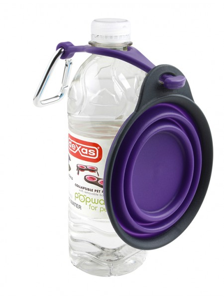 Dexas Travel Cup w/Bottle Holder & Carabiner