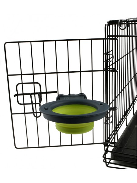 Dexas Collapsible Kennel Bowl-Small