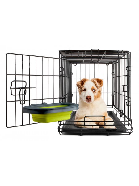Dexas Collapsible Kennel Bowl-Large