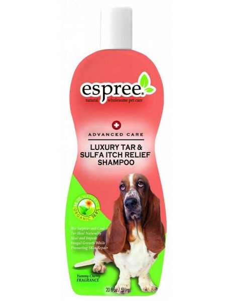 Espree Luxury Tar & Sulfa Itch Relief Shampoo