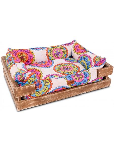 Деревянный лежак Takeshi Aztek Wood Limited