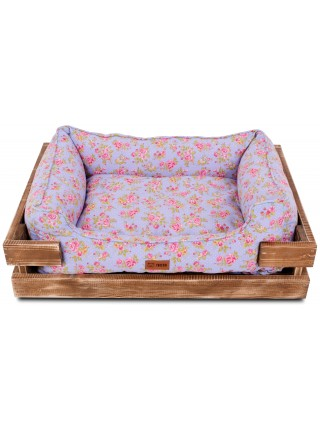 Деревянный лежак Takeshi Pink Roses Wood Limited