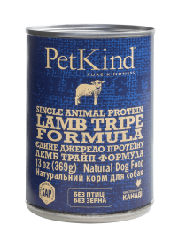 PetKind Lamb Tripe Single Animal Protein Formula 0.369 кг