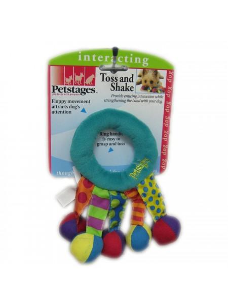Petstages Кольцо-погремушка текстильное