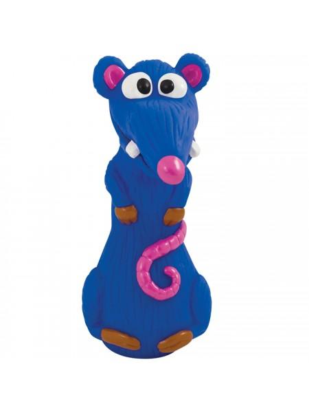 Petstages Синяя крыса розовый нос