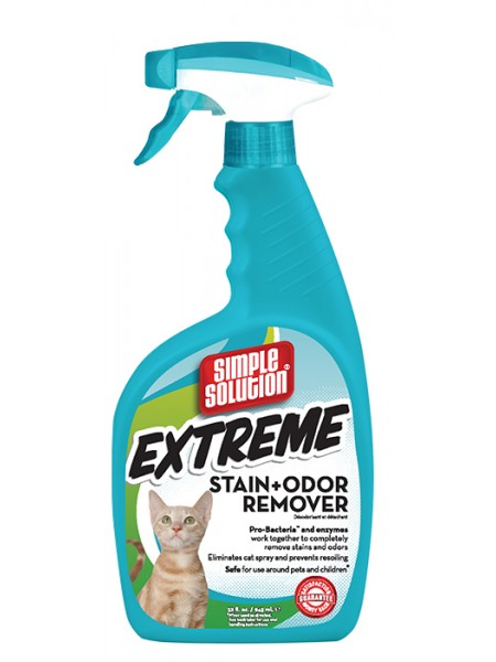 Simple Solution Extreme Cat stain and odor remover