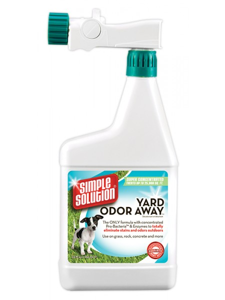 Simple Solution Yard odor away Hose spray concentrate