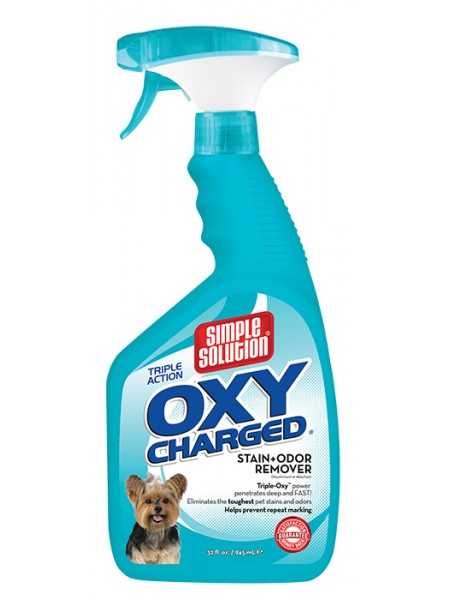 Simple Solution Oxy charged TM Stain and odor remover