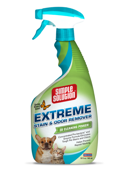 Simple Solution Extreme Stain & Odor Remover Spring Breeze